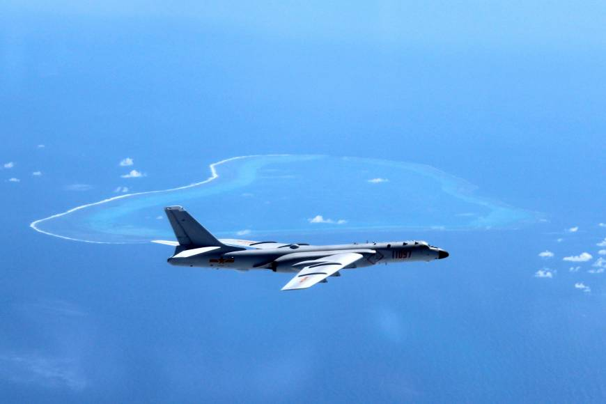 China flies nuclear-capable bomber near Scarborough Shoal, vows to make South China Sea patrols 'regular practice'