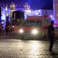 Possible bomber dead, 10 wounded when explosive detonates near Nuremberg