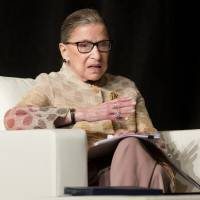 Justice Ginsburg enters political fray, terms Trump 'faker' with ego