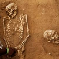 Excavation of Philistine cemetery in Israel casts new light on lives of Goliath's people
