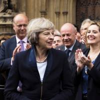 Interior minister Theresa May will be U.K.'s next leader