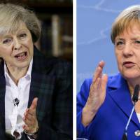 May and Merkel share a cautious pragmatism