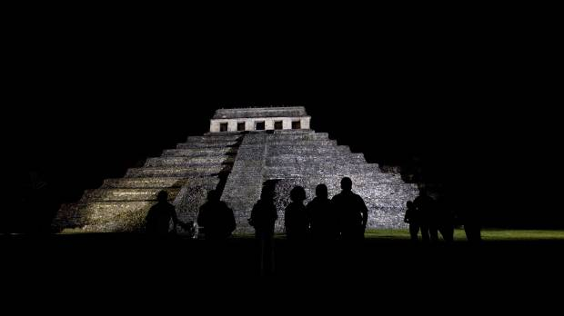 No ancient astronauts after all: Canal found under Maya pyramid most likely gateway to afterlife