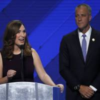 Transgender woman makes history by addressing delegates at DNC