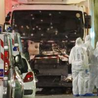 Arms-laden truck plows through Nice promenade crowd; at least 75 feared dead