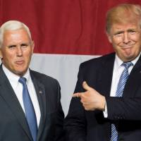 Indiana Gov. Mike Pence is named as Trump's running mate