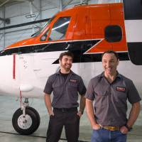 South Pole rescue pilots recall totally dark, no big deal flights; pair on mend