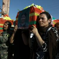Islamic State hits Kurds, other U.S.-backed forces near its Syria bastion