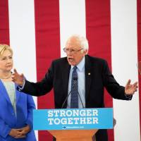 Sanders finally backs Clinton, calls her 'far and away the best'