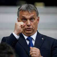 Hungary PM becomes first EU leader to endorse Trump