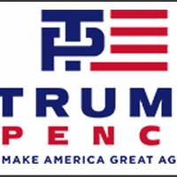 New Trump-Pence logo gives people something to giggle about