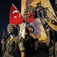 Turkish coup attempt leaves at least 90 civilians and police dead, plus 104 coup plotters; no Japanese affected
