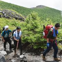 Mount Fuji trails in Shizuoka Prefecture open for season