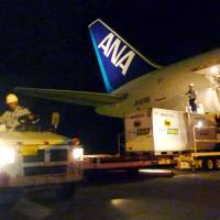 Naha Airport hoping to become Asia cargo hub, helped by TPP
