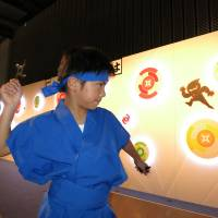Museum gives visitors a scientific take on ninja life