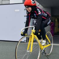 Hokkaido woman on track for professional cycling career