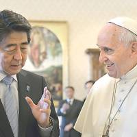 Vatican considers visit to Japan by Pope Francis next year