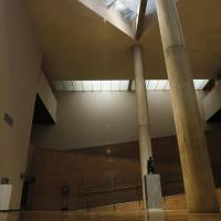The interior of the National Museum of Western Art in Tokyo is seen in this photo. | KYODO