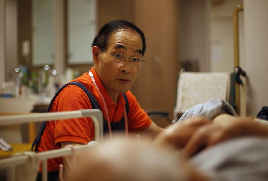 60 seen as too young to retire in aging worker short japan the