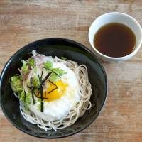Soba noodles with grated raw yamaimo (mountain yam) | MAKIKO ITOH