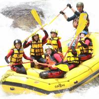 On a rapid learning curve: White-water rafting can be a character-building experience for kids. | JASON JENKINS