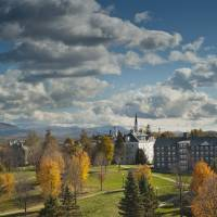 Picturesque setting: Middlebury College, Vermont, has been recognized for its leadership in international and environmental studies. | BRETT SIMISON
