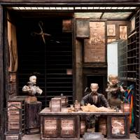 The tailor's shop, from the Quay Brothers' 'Street of Crocodiles' (1986) | ©ROBERT BARKER