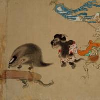 Spooky beasts keep haunting Japan's art