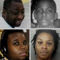 Clockwise from top left: Eric Garner, Clifford Glover, Alton Sterling, Philando Castile, Sandra Bland and Michael Brown. They all died after encounters with the police in the United States.   THE JAPAN TIMES