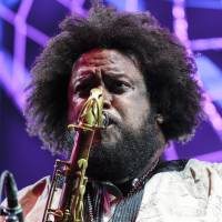 Top act: Kamasi Washington's closing set at Fuji Rock's Field of Heaven stage was a festival highlight. | JAMES HADFIELD