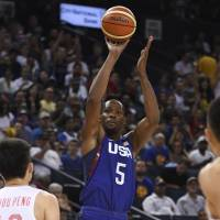 Durant shines in first game at new home arena