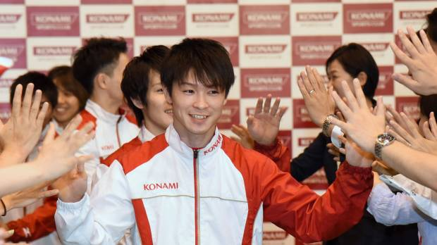 Uchimura determined to lead Japan to team gold in Rio