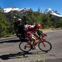 Froome solidifies lead in mountain stage
