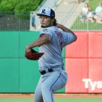 Darvish loses Double-A rehab start
