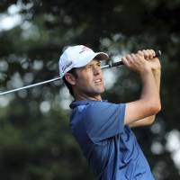 Streb moves into share of PGA lead with 63