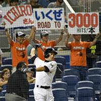 Ichiro's vow to play until age 50 no laughing matter