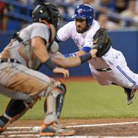Blue Jays rally in eighth for win over Tigers