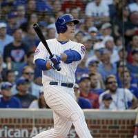 Rizzo blasts three-run homer to lift Cubs