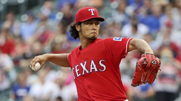 A's jinx continues for Darvish