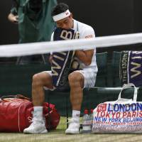 Nishikori, Doi exit Wimbledon in fourth round