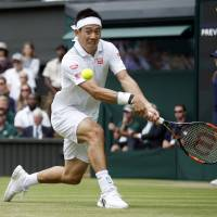 Nishikori bests Benneteau; Doi sends Pliskova packing