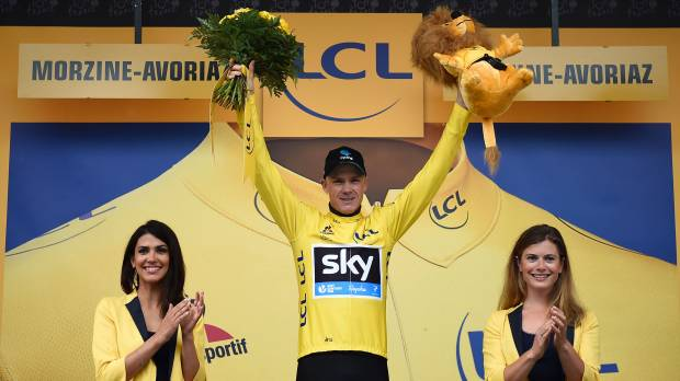 Froome maintains lead with third Tour de France title on horizon