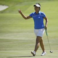 Nomura falls five shots off pace at U.S. Women's Open