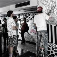 UltraSuperNew kicks off summer party season with a mix of live painting and music