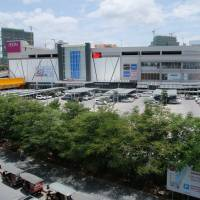 This Aeon Mall, seen on Aug. 16, opened in central Phnom Penh in 2014. A second is expected to be completed by 2018 in a northern suburb. | KYODO