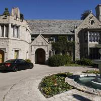 The Playboy Mansion in Los Angeles is seen in 2011. | REUTERS