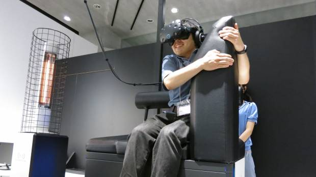 Tokyo VR attraction puts you in the heart of a Gundam battle