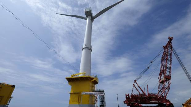 Fukushima floating wind farm is Japan's entry into contested sector