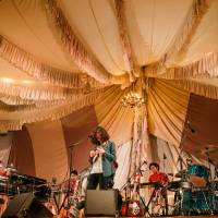The big tent: Roth Bart Baron plays at Fuji Rock Festival last month. | KIT LEE