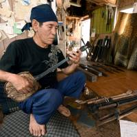 Okinawa's snakeskin banjo stands test of time